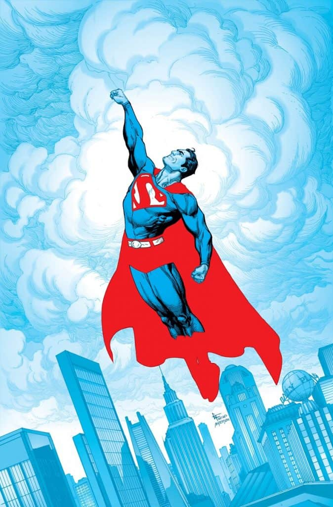 Superman: Red & Blue #1 cover by Gary Frank