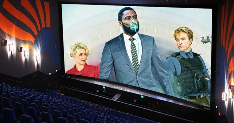 Tenet in Cinemas