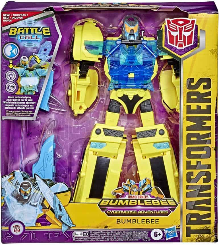 Transformers Bumblebee Cyberverse Adventures Battle Call Officer Class Action Figure Review