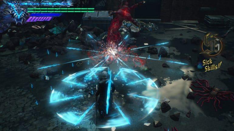 Vergil in Devil May Cry V (PS5)