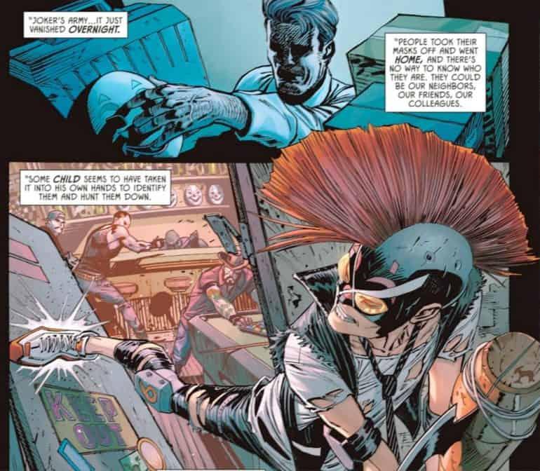 Batman #101 - Batman visits Clownhunter, Bao Pham, Joker War