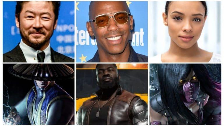 mortal kombat movie 2021 cast
