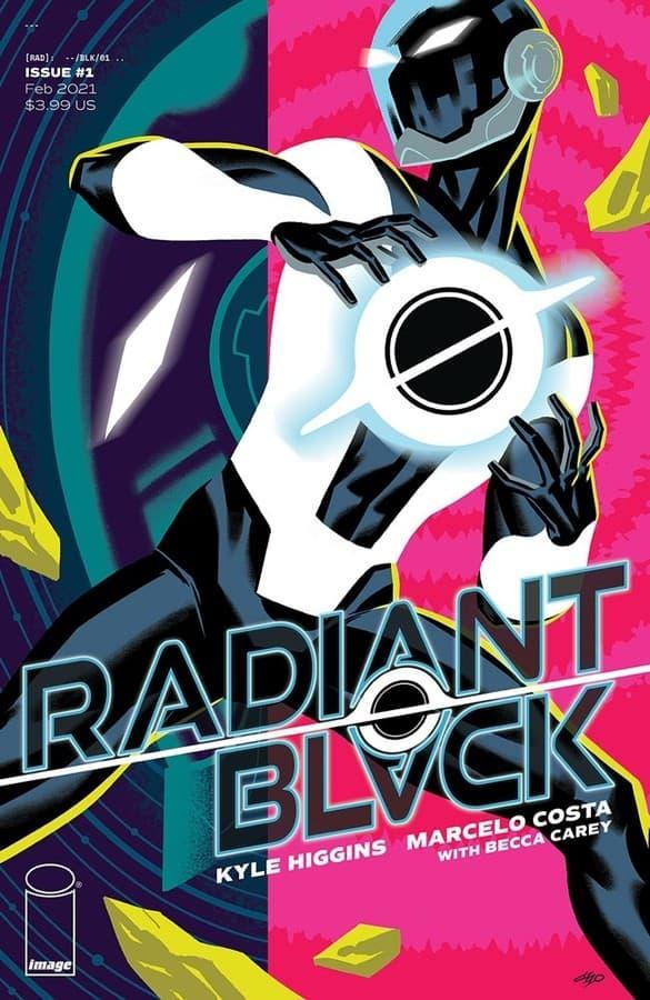 radiant black 1 comic book image