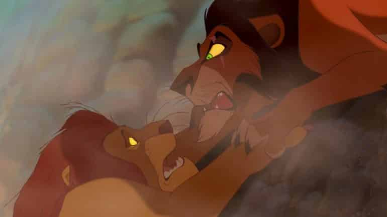 scar ate mufasa the lion king movie theory