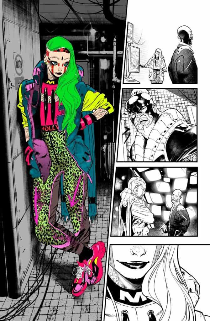 Batman#108 Molly Miracle