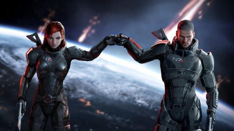 Commander Shepard Mass Effect Henry Cavill