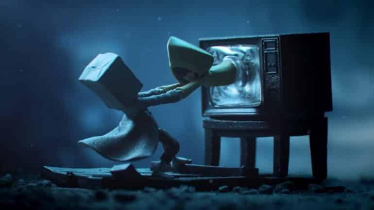 Little Nightmares II Tim Burton