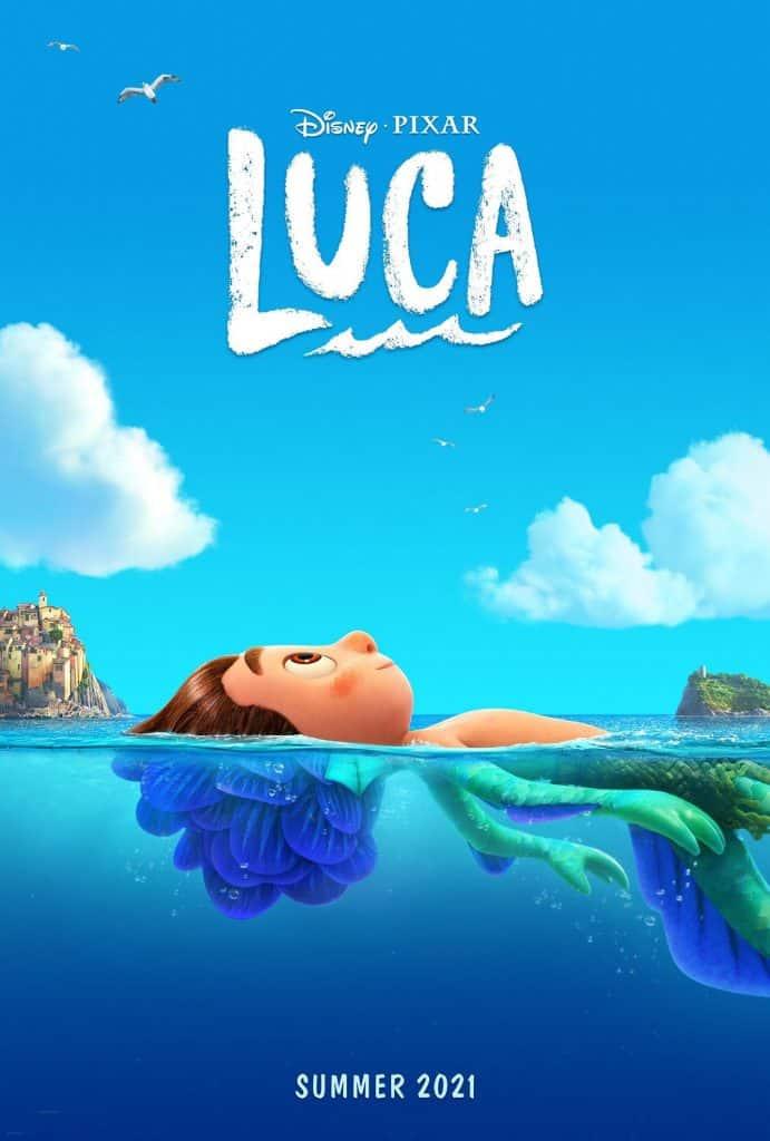 Luca Disney Pixar Poster