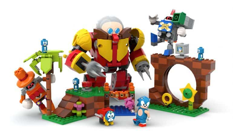 Sonic The Hedgehog LEGO set
