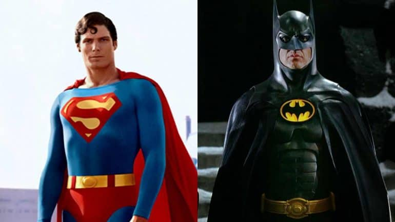 Superman '78 and Batman '89