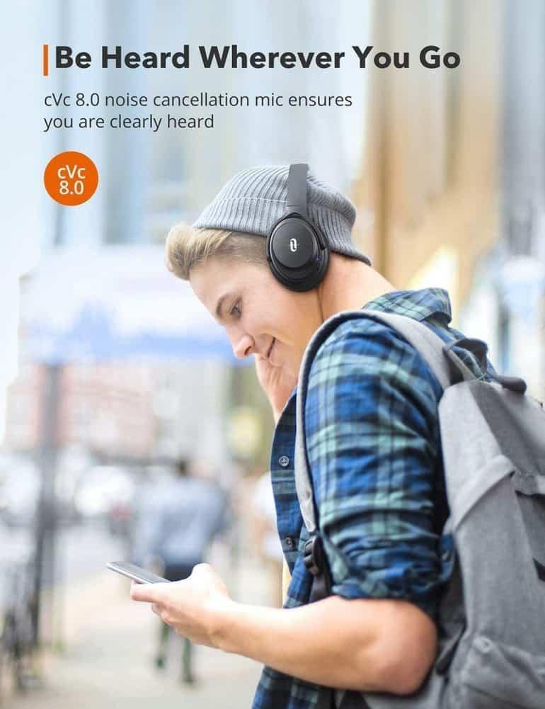 TaoTronics SoundSurge 85 headphones