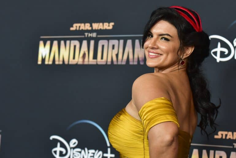 gina carano the mandalorian fired star wars