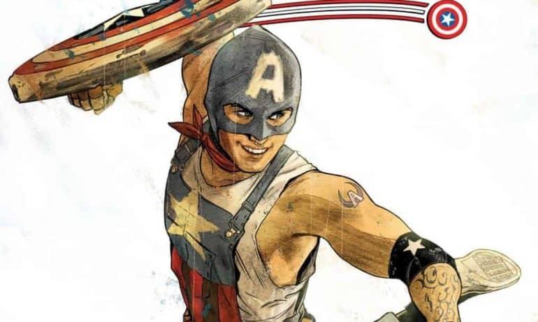 Aaron Fischer, Marvel's first gay Captain America