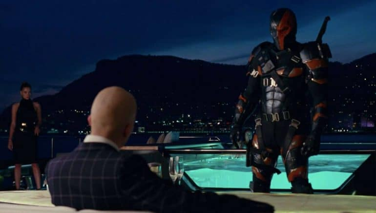 Deathstroke Justice League Post Credits