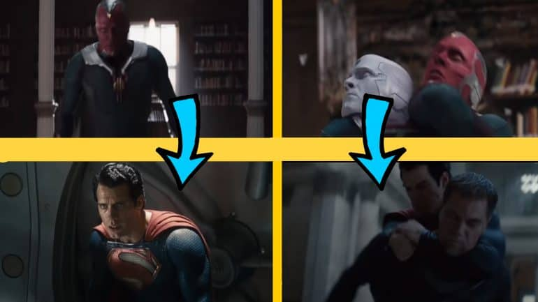 Did WandaVision Steal This Sequence From Man of Steel & Batman v Superman