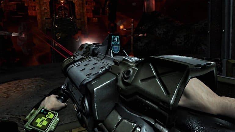 Doom 3 VR Edition PSVR