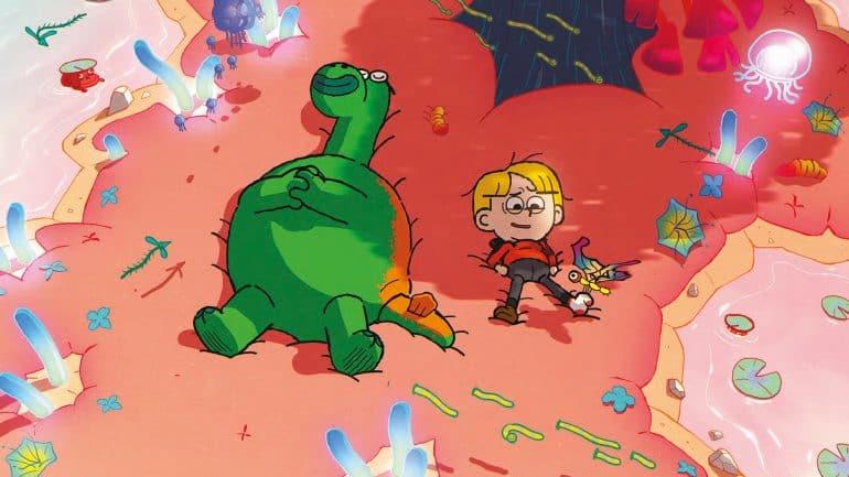 Elliott from Earth Cartoon