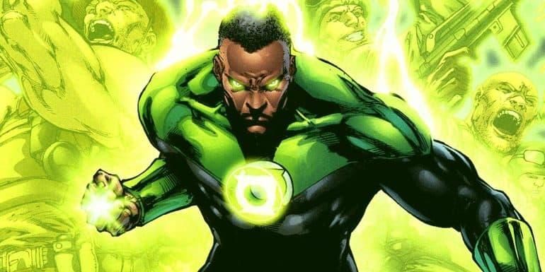 John Stewart Green Lantern Zack Snyder's Justice League
