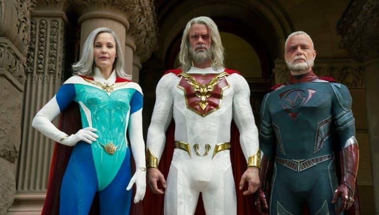 Superhero show Netflix