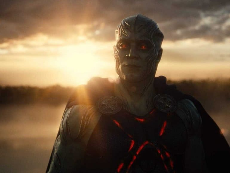 Martian Manhunter Zack Snyder's Justice League
