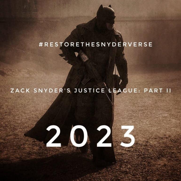 #RestoreTheSnyderVerse Ben Affleck's Batman and Jared Leto's Joker