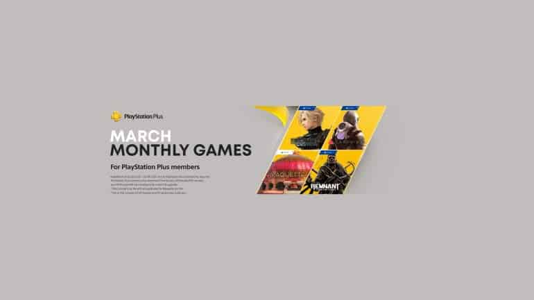 March 2021 on PlayStation Plus playstation free games