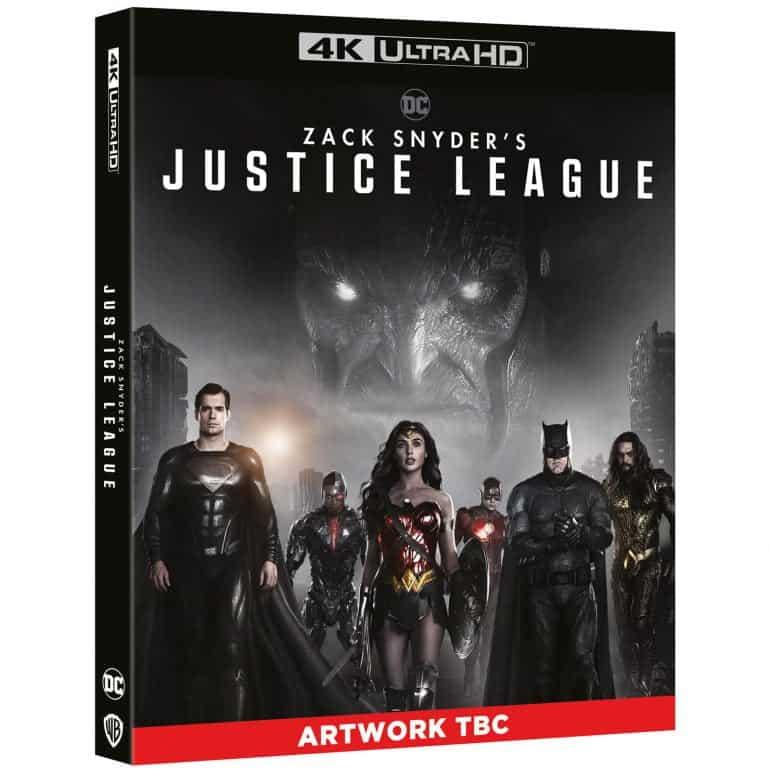 Zack Snyder's Justice League 4K Blu-ray