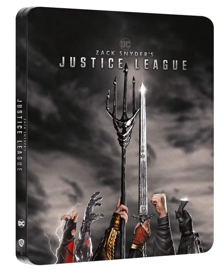 Zack Snyder's Justice League Blu-ray Steelbook
