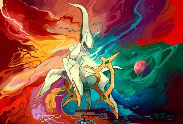 Arceus Strongest Most Powerful Pokémon