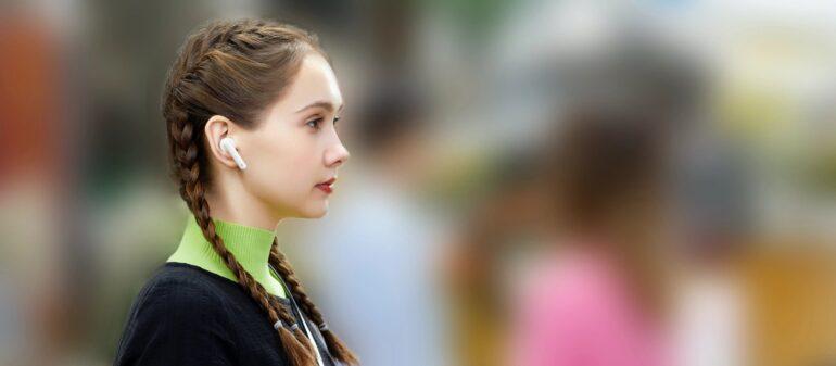 HUAWEI FreeBuds 4i earphones noice cancellation