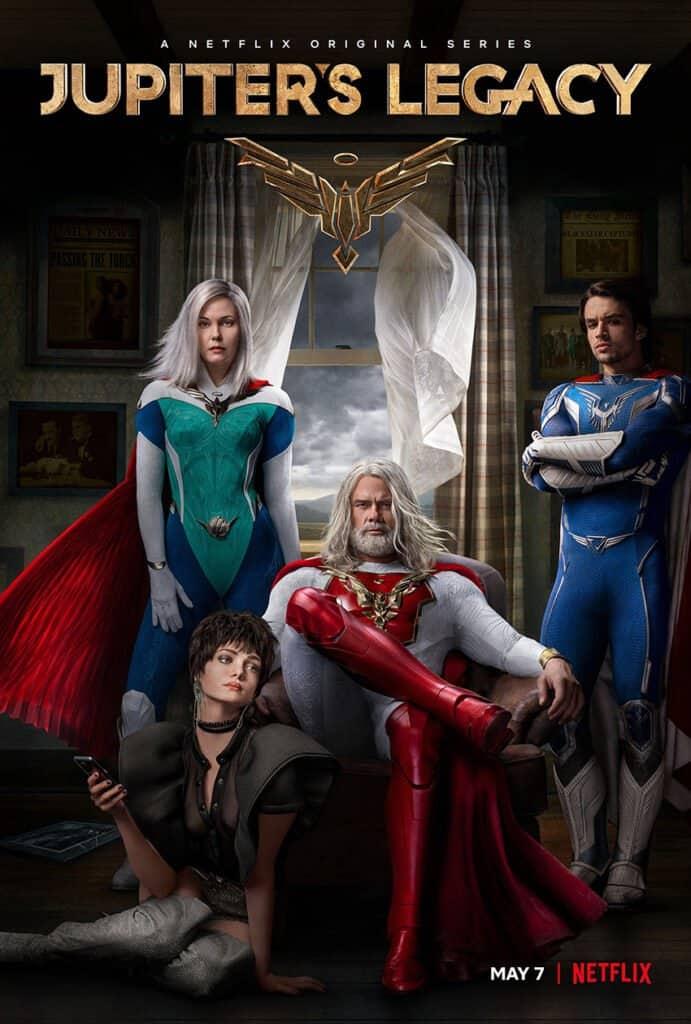 Jupiter's Legacy Netflix Poster
