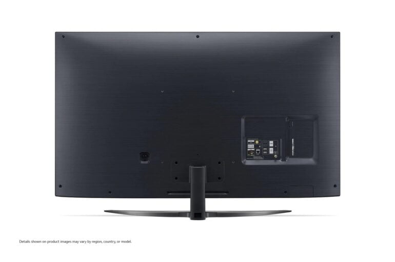 LG Nano86 TV Back