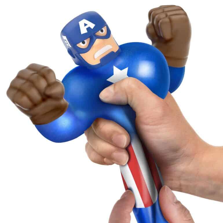 Marvel Heroes of Goo Jit Zu Captain America