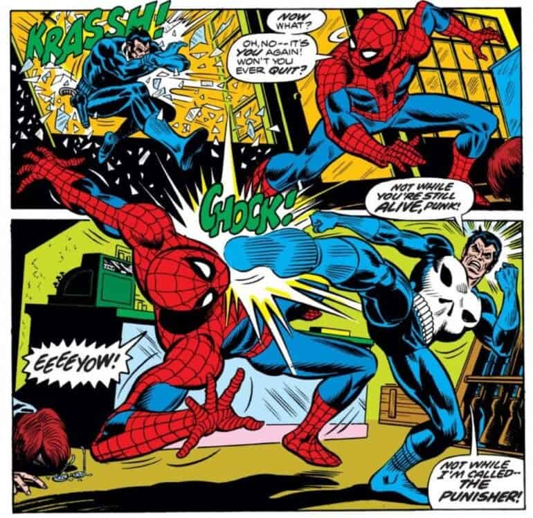 The Amazing Spider-Man #129 The Punisher versus Spider-Man