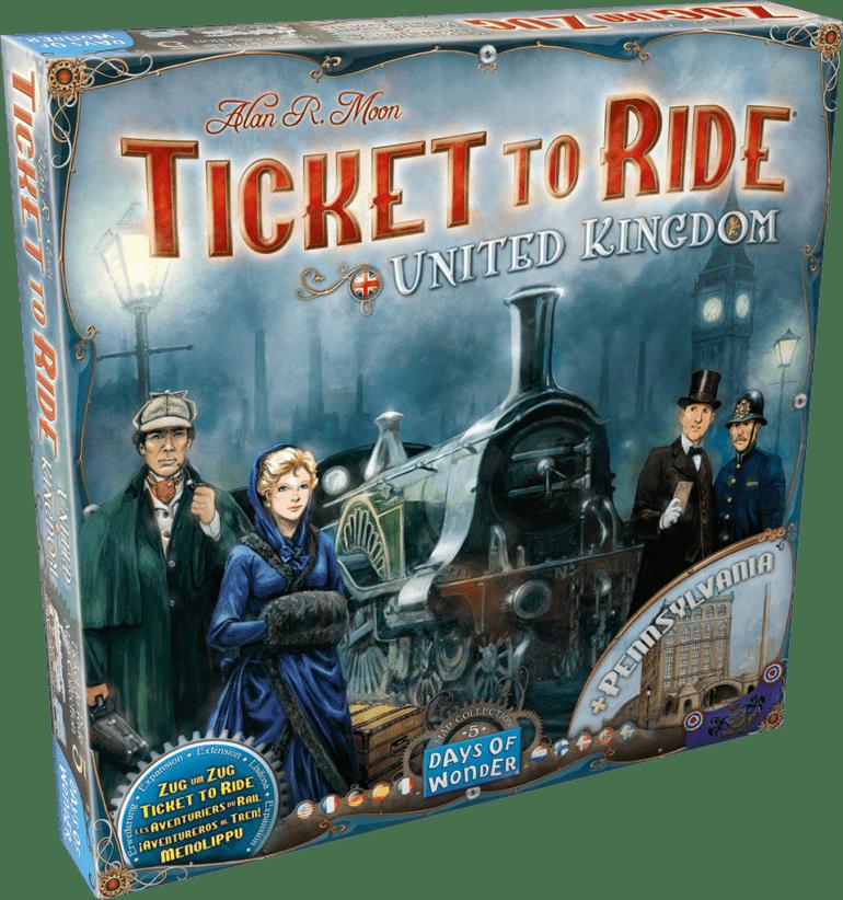 Ticket to Ride: United Kingdom & Pennsylvania