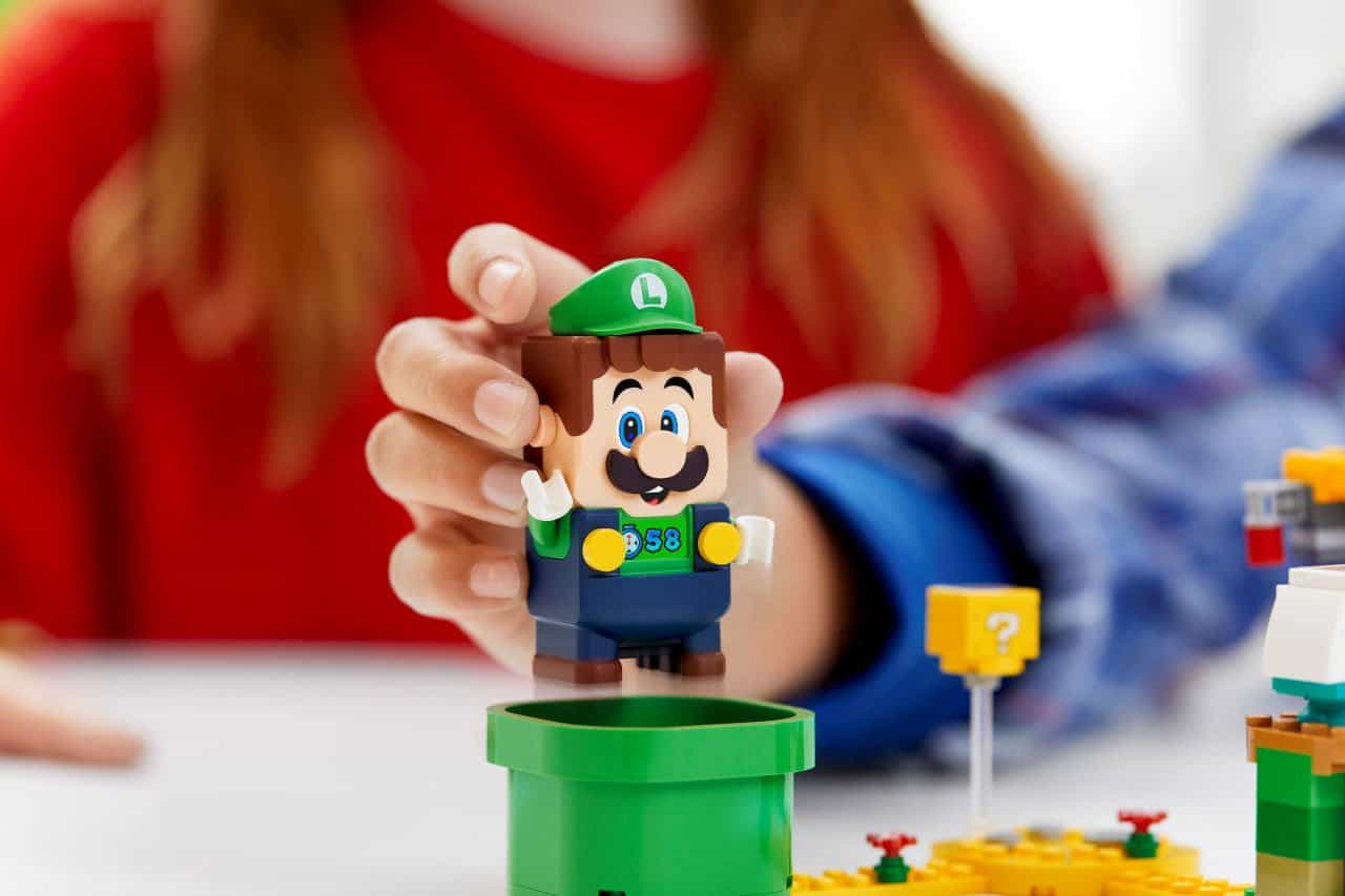 Adventures with Luigi Starter Course Added to LEGO Super Mario - Fortress of Solitude