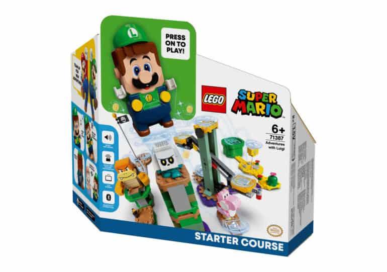 Adventures with Luigi Starter Course Added to LEGO Super Mario