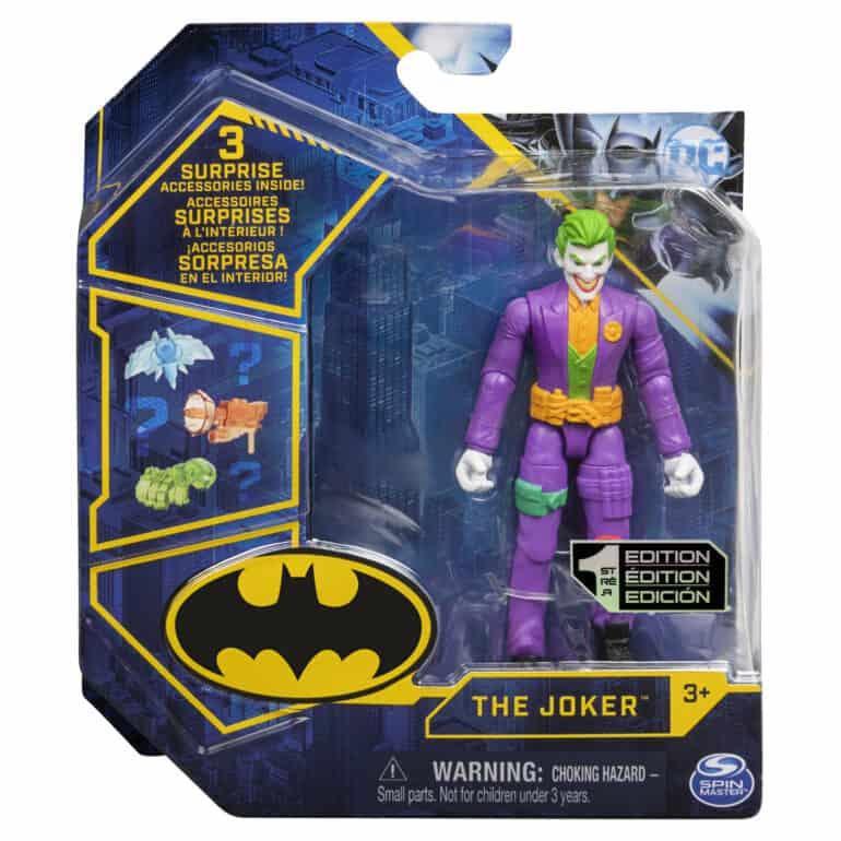 4″ Figure Joker Batman Toys