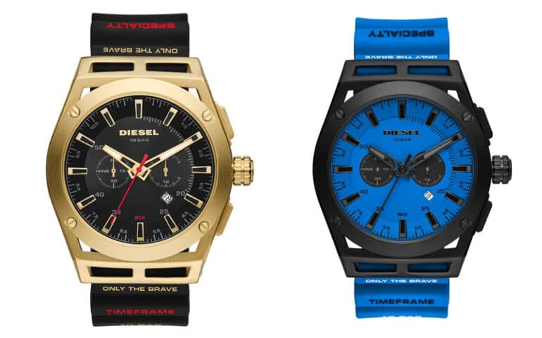 Diesel Watches Timeframe Collection