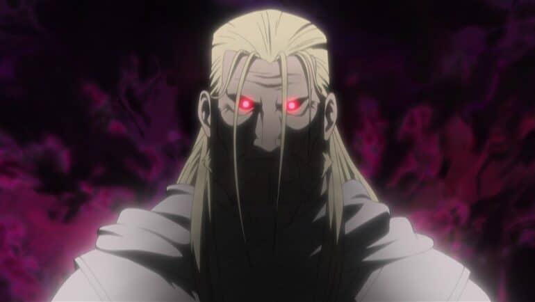 Father – Fullmetal Alchemist Brotherhood – Bleach 5 Most Powerful Anime Villains of All Time