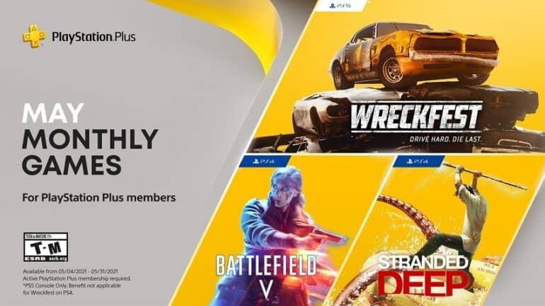 PlayStation PS Plus May 2021