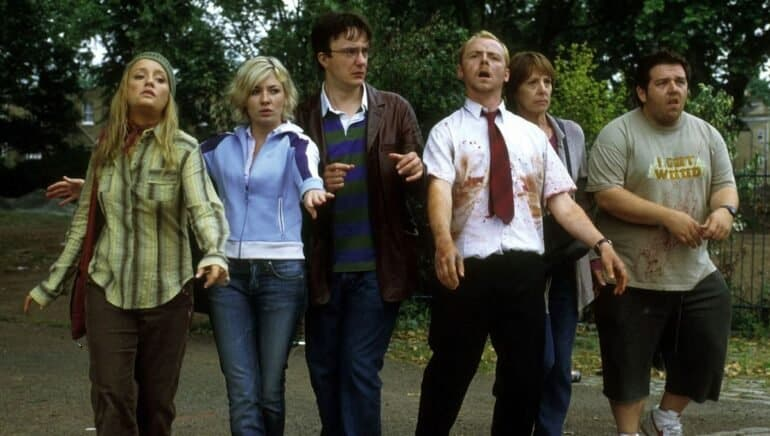Shaun of the Dead Best zombie movies of all time