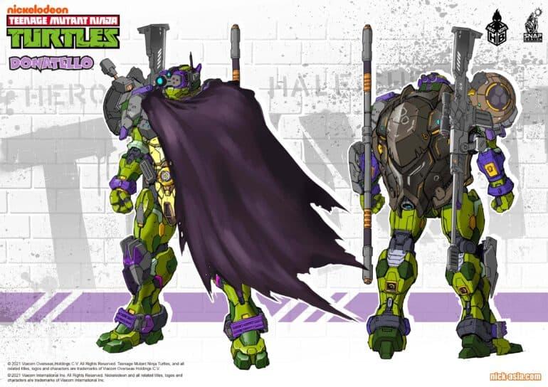 Teenage Mutant Mech Ninja Turtles Donatello