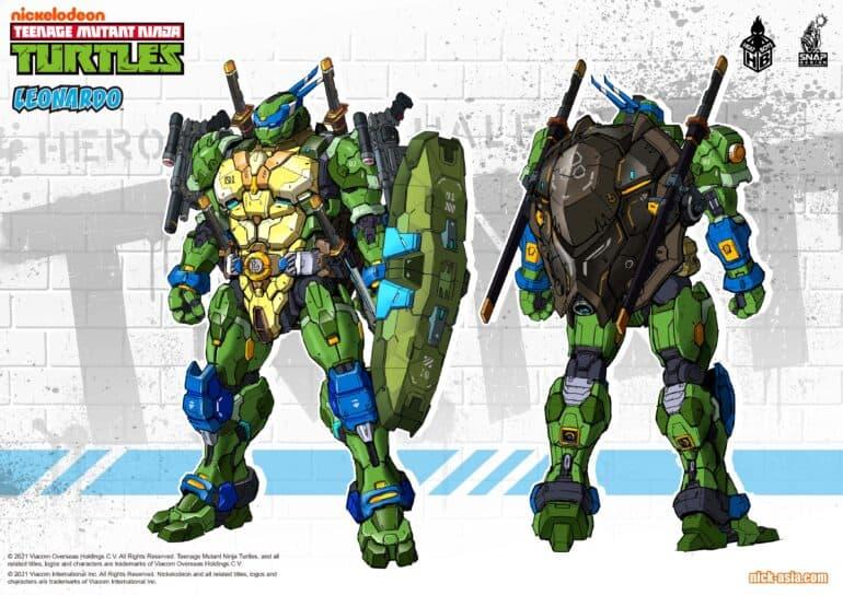 Teenage Mutant Mech Ninja Turtles Leonardo