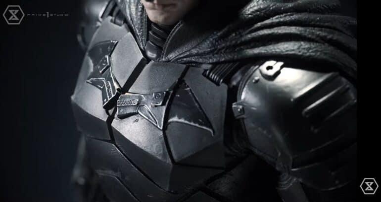 The Batman Prime 1 Studio Statue Robert Pattinson's Suit
