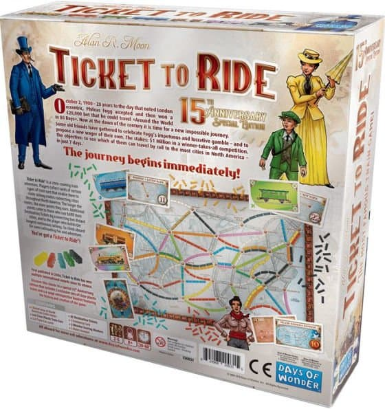 Ticket to Ride 15th Anniversary Edition Review