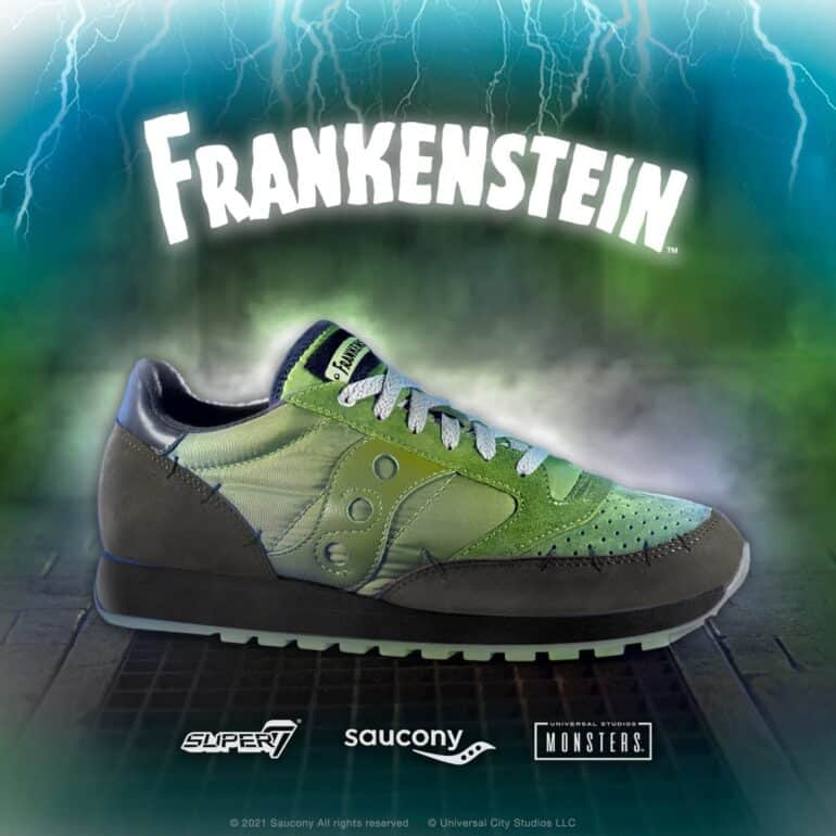 Universal Monsters X Saucony - Classic Monsters Brought to Life