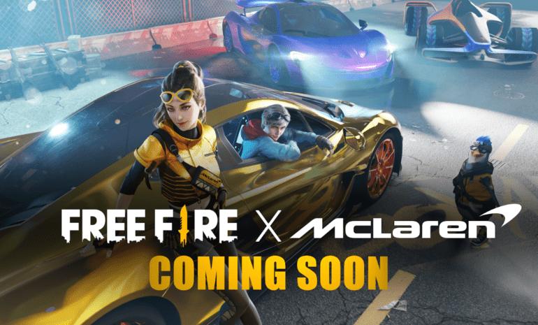 Free Fire X McLaren Racing