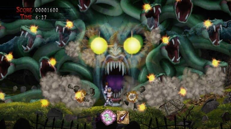 Ghosts N Goblins Resurrection PlayStation 4