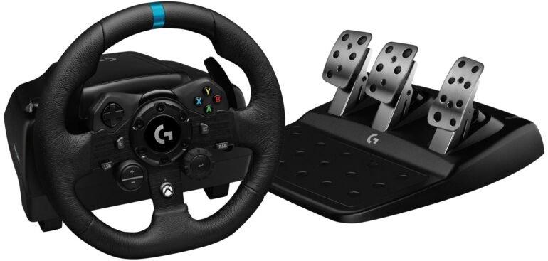 Logitech G923 TrueForce Racing Wheel Review
